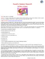 Material Escuelita 230521 -No Faltes a la Iglesia – Juan 20 19-23
